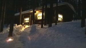 Maja talvella